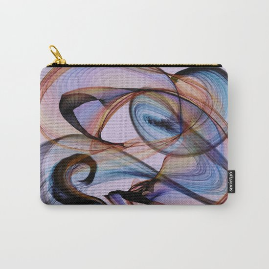 Bird Flame Purple Carry-All Pouch