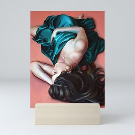 On the cloud Mini Art Print