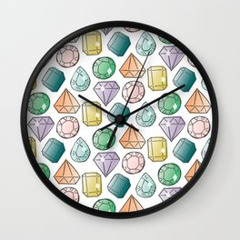Gem City Wall Clock