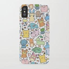 Kawaii Pokémon iPhone Case
