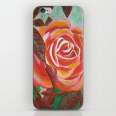 Single Rose iPhone & iPod Skin
