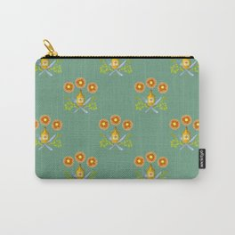 Waffle and Syrup (Mint Mocha) Carry-All Pouch