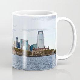 Ellis Island & Manhattan Coffee Mug