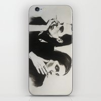 nick cave iPhone & iPod Skins featuring NICK CAVE by Bailey McNicol