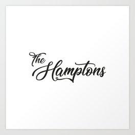 The Hamptons Art Print