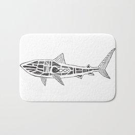 Shark Twist Bath Mat