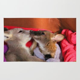 First Love  - Wallaby Babies Rug