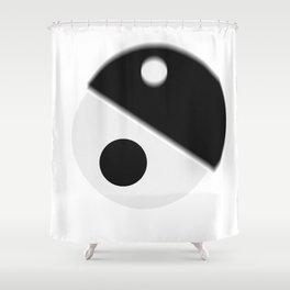 yin sane Shower Curtain