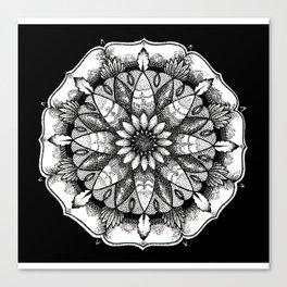FlowerMandala Canvas Print