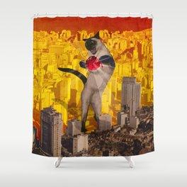 Catomic Shower Curtain