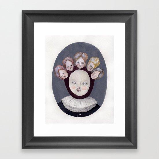 Dutch Disease Framed Art Print