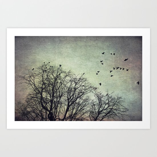 Time of Crows Art Print