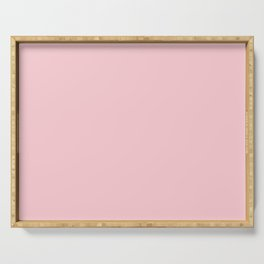 Solid Millennial Pink Pastel Color Trends 2017 Serving Tray