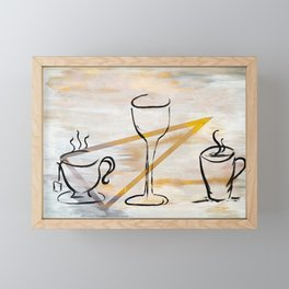 Beverage of Choice Framed Mini Art Print