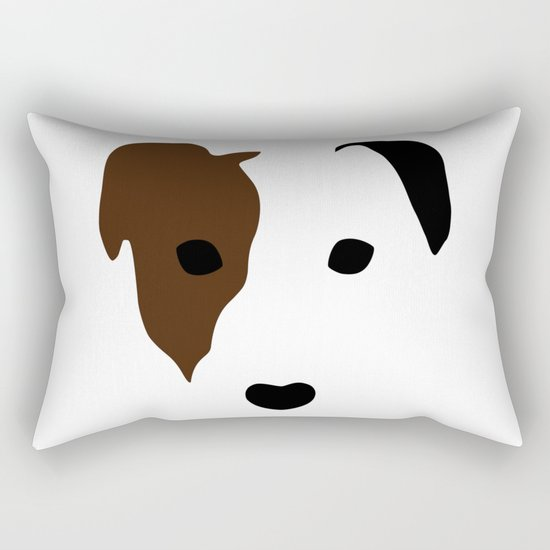 Russell Terrier Rectangular Pillow