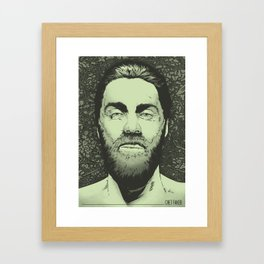 Chet Faker Framed Art Print
