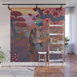 Ukiyo-e tale: The curse Wall Mural