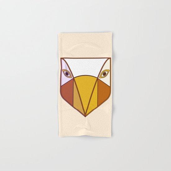 Bird tribal mask Hand & Bath Towel