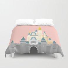 Cinderella Castle  Duvet Cover