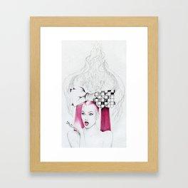 Karlie Oh! Framed Art Print