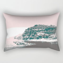 village by the sea. Rectangular Pillow