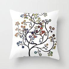 iku Tree Throw Pillow