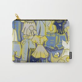 YELLOW CLOTHES Carry-All Pouch