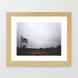 Ft. Worth Framed Art Print