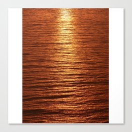 copper sea Canvas Print