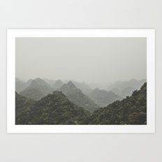 Ha Long Bay V Art Print