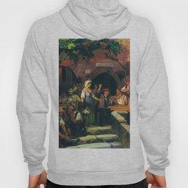 The Italian Tavern 1858 By Fyodor Bronnikov | Reproduction | Romanticism Painting Hoody