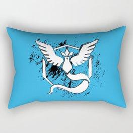 Team Blue Rectangular Pillow