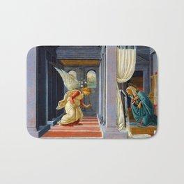 Botticelli The Annunciation Bath Mat