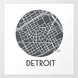 Detroit Medallion Art Print