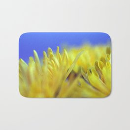 Yellow flowers 277 Bath Mat