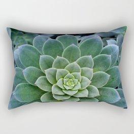 Shades of Succulent Green Rectangular Pillow