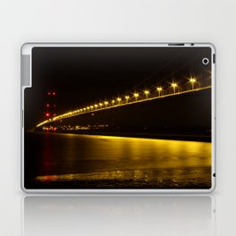 River of Gold- Humber Bridge Laptop & iPad Skin