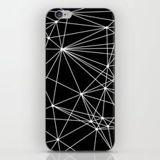 Black & White Geometric Web II iPhone & iPod Skin