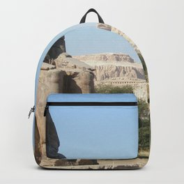 The Clossi of memnon at Luxor, Egypt, 1 Backpack