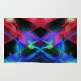 Geometric abstract design Rug