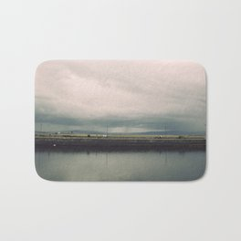 Rainstorm at Claddagh Bath Mat