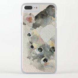 Bromance Clear iPhone Case