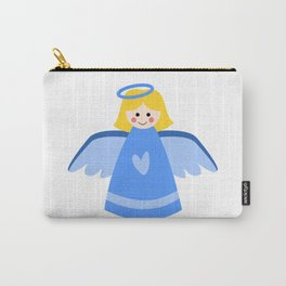 Little Blue Angel Carry-All Pouch