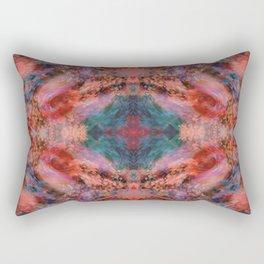 Silk Kaleidoscope Rectangular Pillow