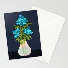 Blue Echinacea Stationery Cards