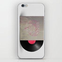 listen iPhone Skin