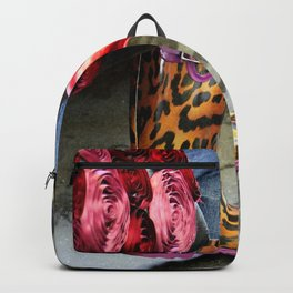 Rainy Day Plastic Backpack