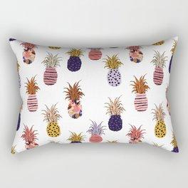 Funky Pineapple Pattern Rectangular Pillow