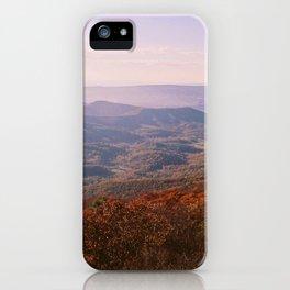 Shenandoah Valley iPhone Case