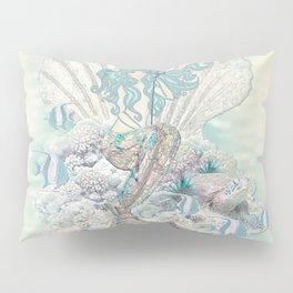 Anais Nin Mermaid [vintage inspired] Art Print Pillow Sham